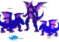 Drokoro evolutions.png